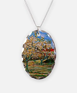 Van Gogh: Orchard in Blossom Necklace
