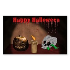 Happy Halloween Jack O Latern Decal