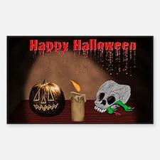 Happy Halloween Jack O Latern Decal