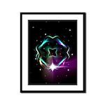 Mystic Prisms - Clover - Framed Panel Print