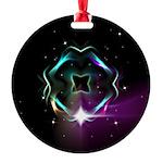 Mystic Prisms - Clover - Round Ornament