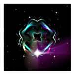 Mystic Prisms - Clover - Square Car Magnet 3