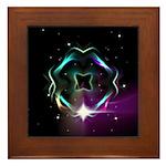Mystic Prisms - Clover - Framed Tile