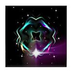 Mystic Prisms - Clover - Tile Coaster