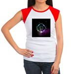 Mystic Prisms - Clover - Women's Cap Sleeve T-Shir