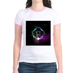 Mystic Prisms - Clover - Jr. Ringer T-Shirt