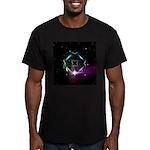 Mystic Prisms - Clover - Men's Fitted T-Shirt (dar
