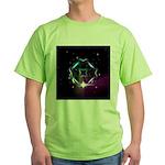 Mystic Prisms - Clover - Green T-Shirt