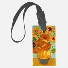 Van Gogh - Still Life Vase with  Luggage Tag