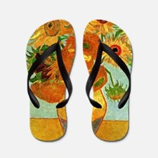 Van Gogh - Still Life Vase with Twelve  Flip Flops