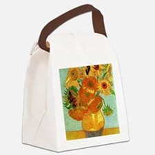 Van Gogh - Still Life Vase with T Canvas Lunch Bag