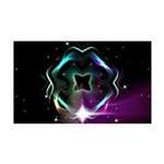 Mystic Prisms - Clover - 35x21 Wall Decal