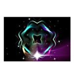 Mystic Prisms - Clover - Postcards (Package of 8)