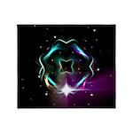 Mystic Prisms - Clover - Throw Blanket