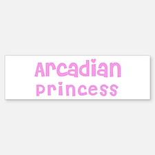 Arcadian Princess Bumper Bumper Bumper Sticker
