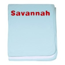 Savannah Santa Fur baby blanket