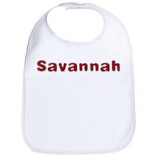 Savannah Santa Fur Bib
