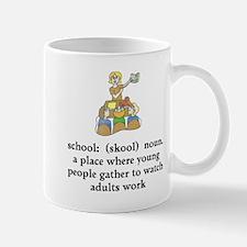 School Definition Mug
