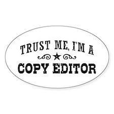 Copy Editor Decal