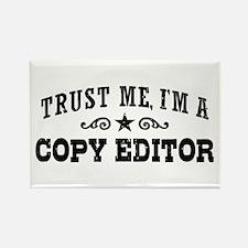 Copy Editor Rectangle Magnet