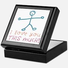 I Love You This Much Keepsake Box