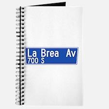La Brea Ave., Los Angeles - USA Journal