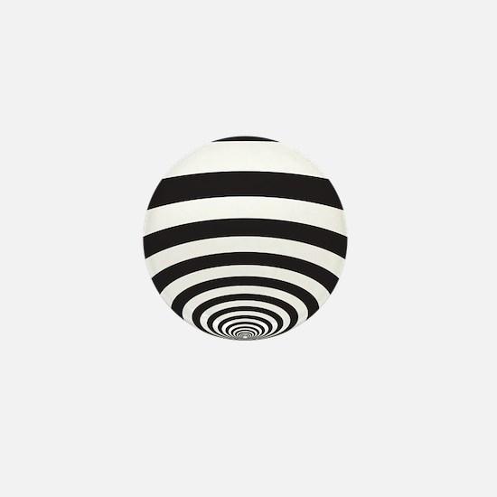 Optical Illusion Mini Button