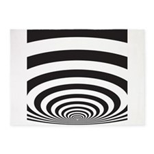 Optical Illusion 5'x7'Area Rug
