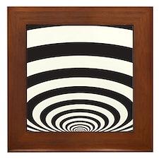 Optical Illusion Framed Tile