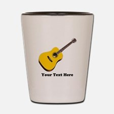 Guitar Personalized Shot Glass