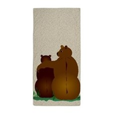 Bear Hugs Beach Towel