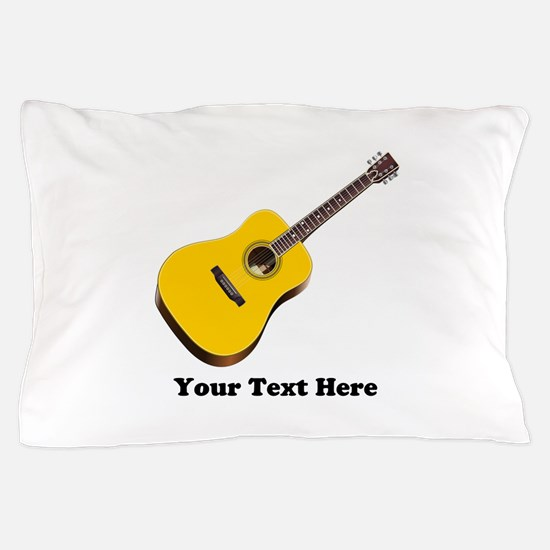 Guitar Personalized Pillow Case