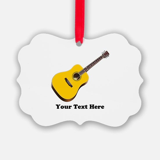 Guitar Personalized Ornament