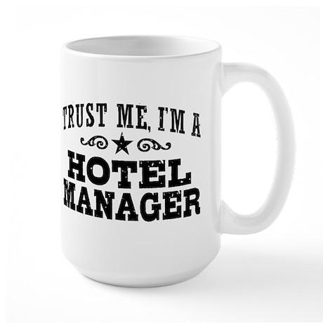 Hotel Manager Large Mug
