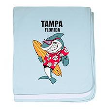 Tampa, Florida baby blanket