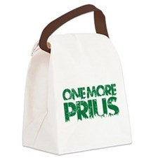One More Prius Transparent green Canvas Lunch Bag