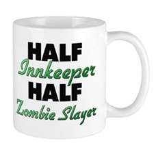 Half Innkeeper Half Zombie Slayer Mugs