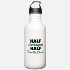 Half Innkeeper Half Zombie Slayer Water Bottle