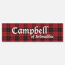 Tartan - Campbell of Ardmaddie Bumper Bumper Sticker