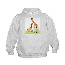 2 Giraffes Hoodie