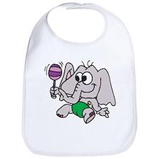 Playful Elephant Bib