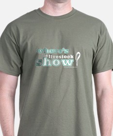 Where's the Livestock Show T-Shirt