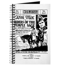 Tom Mix Riders of Purple Sage Journal