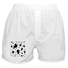 Dalmatian Spots Print Boxer Shorts