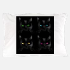 Black Cat Pattern Pillow Case