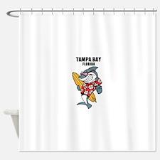 Tampa Bay, Florida Shower Curtain