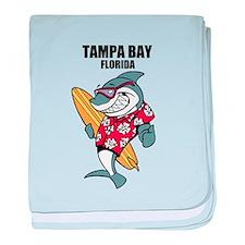 Tampa Bay, Florida baby blanket
