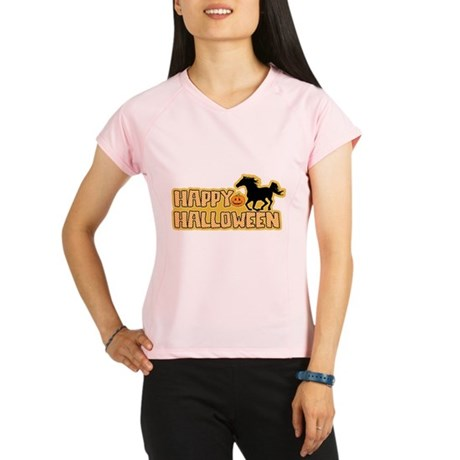 Halloween Horse Performance Dry T-Shirt