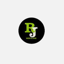 Modern Monogram Mini Button (100 pack)