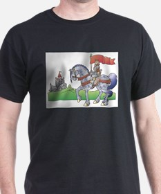 Knight (Front only) T-Shirt